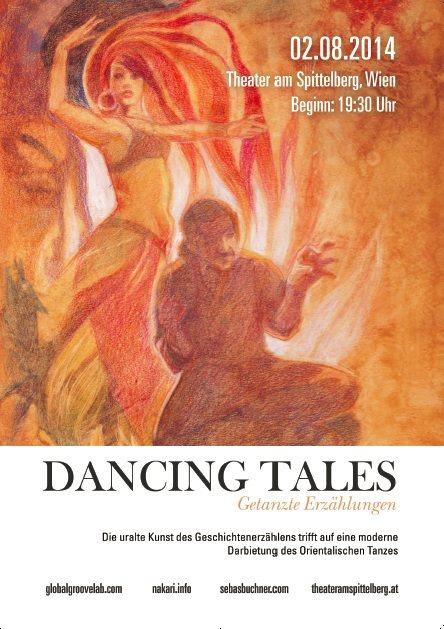 Dancing Tales: mit den Wüstenrosen, Nakari, Rhea Krcmarova und Sebastian Buchner (Bild (c) Christine Buchner)